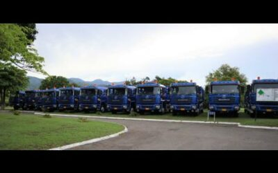 20 Shacman Compactor Garbage Trucks For NSWMA