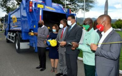 PM Hands Over 20 New Garbage Trucks To NSWMA